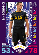 Match Attax 2017 Away Kit Cards