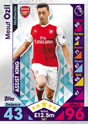 Match Attax 2017 Assist Kings Cards