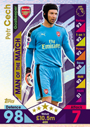 Match Attax 2017 Man Of The Match Cards