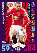 Match Attax 2017 Club Heroes Cards