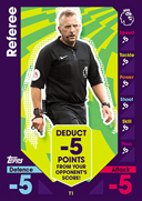 Match Attax 2017 Tactic and Promo Cards