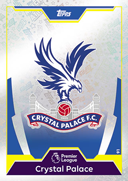 Match Attax 2018 Crystal Palace Cards