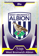 Match Attax 2018 West Bromwich Albion Cards