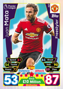 Match Attax 2018 Freestylers Cards