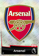 Match Attax 2019 Arsenal Cards