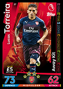 Match Attax 2019 Away Kit Cards