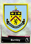 Match Attax 2019 Burnley Cards