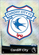 Match Attax 2019 Cardiff City Cards