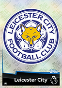 Match Attax 2019 Leicester City Cards