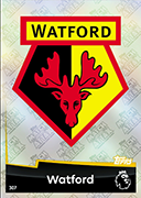 Match Attax 2019 Watford Cards