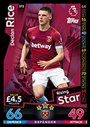 Match Attax 2019 Rising Stars Cards