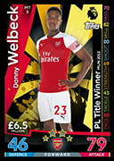 Match Attax 2019 PL Ttile Winners Cards