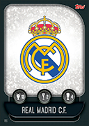 Match Attax 2020 Real Madrid Cards