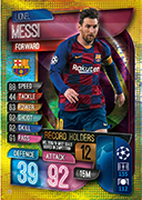 Match Attax 2020 UCL Record Holders Cards