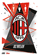 Match Attax 2021 Milan Cards