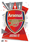 Match Attax 2021 Arsenal Cards