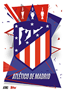 Match Attax 2021 Atletico Madrid Cards