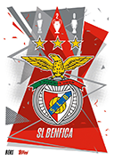 Match Attax 2021 Benfica Cards