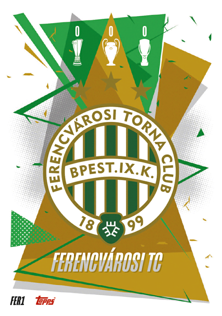 Match Attax 2021 Ferencvaros Cards