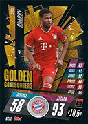 Match Attax 2021 Golden Goalscorers Cards