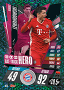 Match Attax 2021 Hat Trick Heroes Cards
