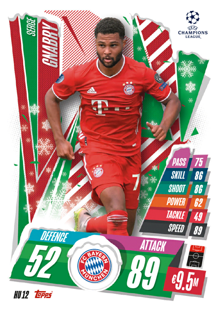 Match Attax 2021 Holiday Update Cards Cards