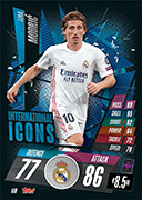 Match Attax 2021 International Icons Cards
