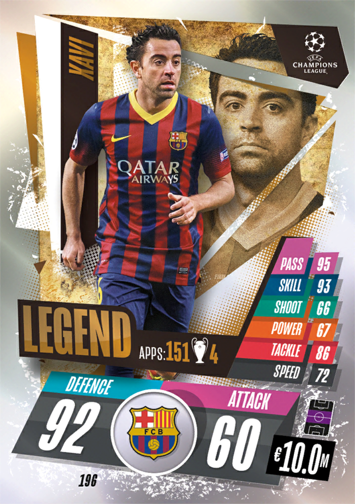 Match Attax 2021 Legends Cards