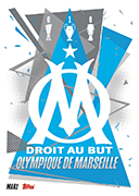 Match Attax 2021 Olympique Marseille Cards
