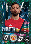 Match Attax 2021 Man Of The Match Cards