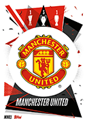 Match Attax 2021 Manchester United Cards