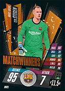 Match Attax 2021 Matchwinners Cards