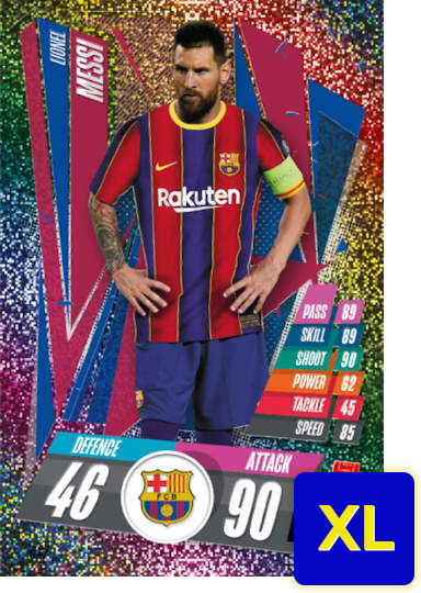 Match Attax 2021 Limited Edition XL Cards