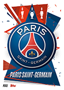 Match Attax 2021 Paris Saint Germain Cards