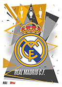 Match Attax 2021 Real Madrid Cards