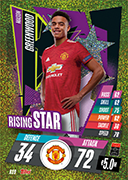Match Attax 2021 Rising Star Cards