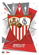 Match Attax 2021 Sevilla Cards
