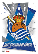 Match Attax 2021 Real Sociedad Cards