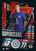 Match Attax 2021 Superstars Cards