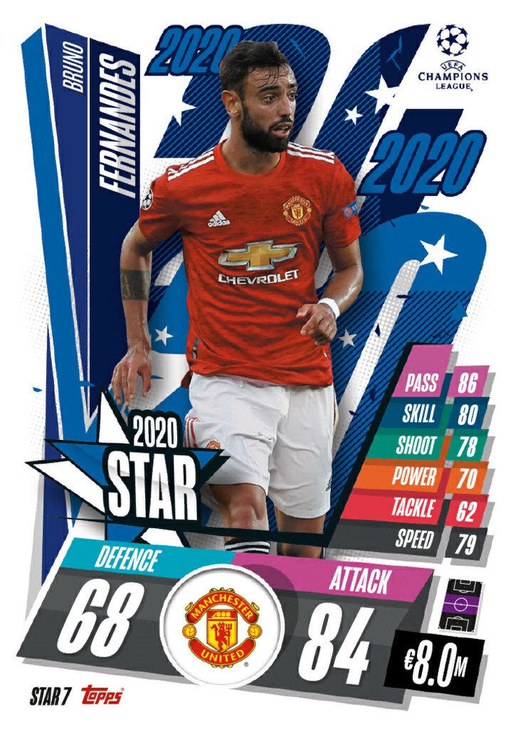 Match Attax 2021 2020 Stars Cards