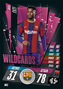 Match Attax 2021 Wildcards Cards