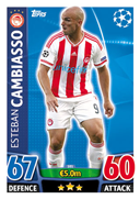 Champions League Match Attax 2016 Olympiacos Cards