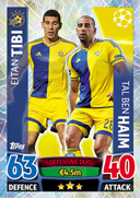 Champions League Match Attax 2016 Duo Cards