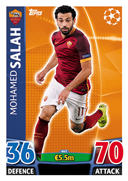 Champions League Match Attax 2016 Roma Cards