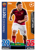 Champions League Match Attax 2016 Captain Cards