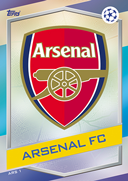 Champions League Match Attax 2017<br />Arsenal Cards