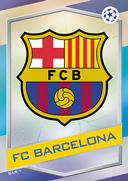 Champions League Match Attax 2017<br />Barcelona Cards