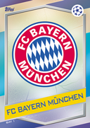 Champions League Match Attax 2017<br />Bayern Munich Cards