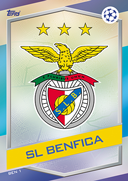 Champions League Match Attax 2017<br />Benfica Cards
