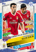 Champions League Match Attax 2017<br />Duo Cards